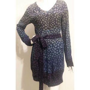 Anthropologie MOTH Sweater Dress Duster Cardigan